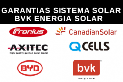 Garantias do Sistema Solar BVK?